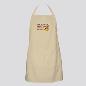 Portuguese smiley designs Apron