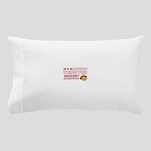Latvian smiley designs Pillow Case