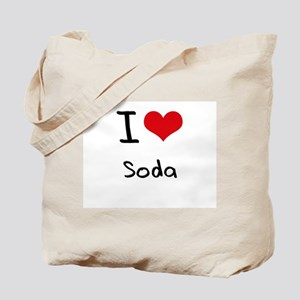 I love Soda Tote Bag
