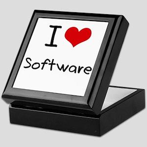I love Software Keepsake Box