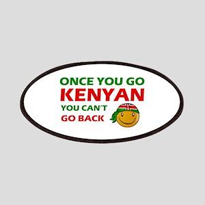 Kenyan smiley designs Patches