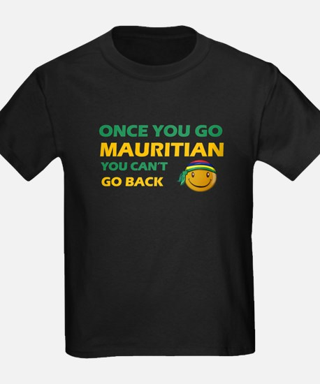 Mauritian smiley designs T