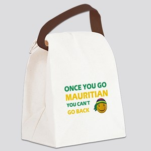Mauritian smiley designs Canvas Lunch Bag