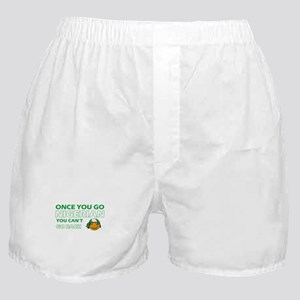 Nigerian smiley designs Boxer Shorts