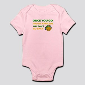 South African smiley designs Infant Bodysuit