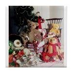 Christmas Bears Tile Coaster