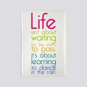 Dance in the Rain Rectangle Magnet