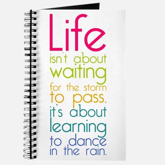 Dance in the Rain Journal