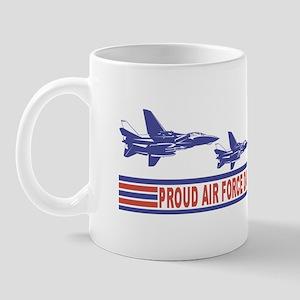Proud Air Force Dad Mug
