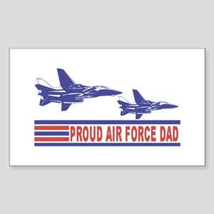 Proud Air Force Dad Vinyl Sticker