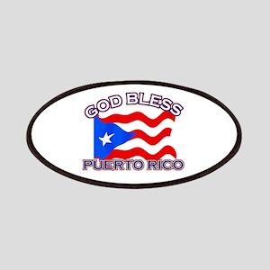 Patriotic Puerto Rico designs Patches