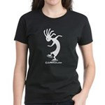 Kokopelli Inline Skater Women's Dark T-Shirt