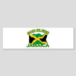 Patriotic Jamaica designs Sticker (Bumper)