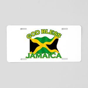 Patriotic Jamaica designs Aluminum License Plate