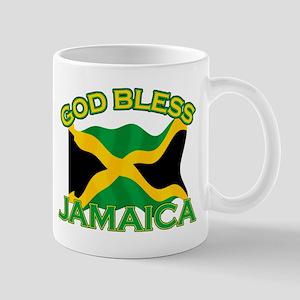 Patriotic Jamaica designs Mug