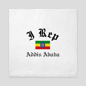 I rep Addis Ababa Queen Duvet