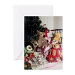 Teddy Bear Tea Greeting Cards (Package o