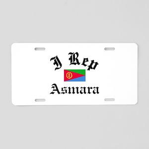 I rep Asmara Aluminum License Plate