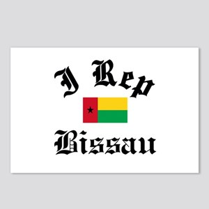 I rep Bissau Postcards (Package of 8)