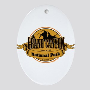 grand canyon 3 Ornament (Oval)