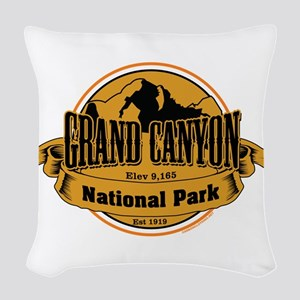grand canyon 3 Woven Throw Pillow