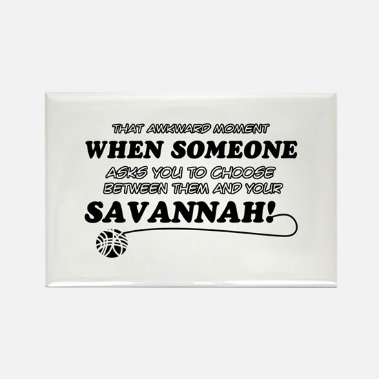 Savannah designs Rectangle Magnet