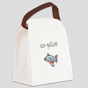 co-pilot Canvas Lunch Bag