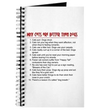 Cats Are Better Than Dogs Journal