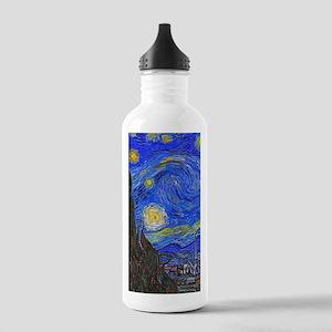 van Gogh: The Starry Night Water Bottle