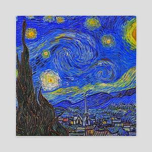 van Gogh: The Starry Night Queen Duvet
