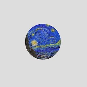 van Gogh: The Starry Night Mini Button