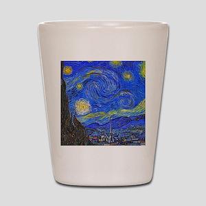 van Gogh: The Starry Night Shot Glass