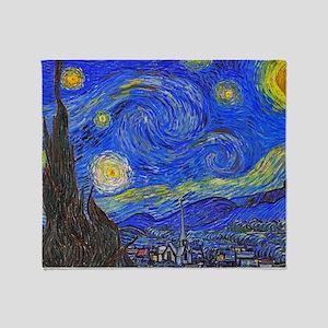 van Gogh: The Starry Night Throw Blanket