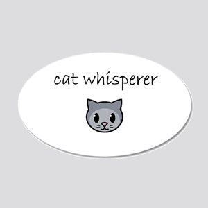 cat whisperer Wall Decal