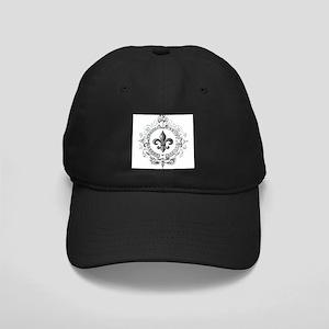 Vintage French Fleur de lis Baseball Hat