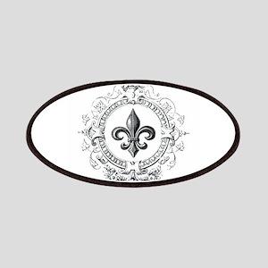 Vintage French Fleur de lis Patches