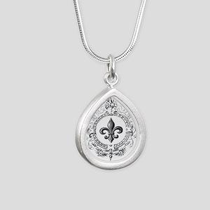 Vintage French Fleur de lis Necklaces