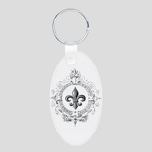 Vintage French Fleur de lis Keychains