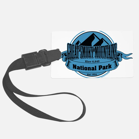 great smokey mountains 5 Luggage Tag