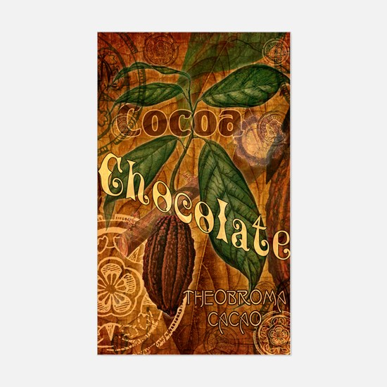 Chocolate Collage Sticker (Rectangle)