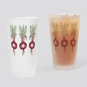 Beets Drinking Glass