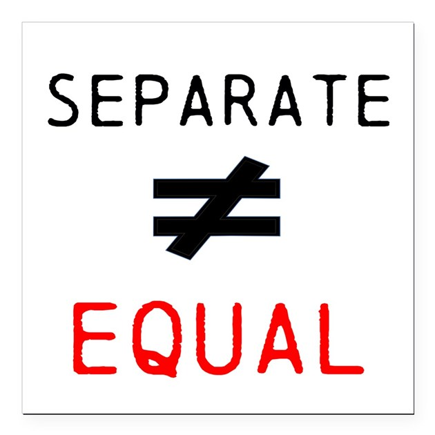 not equal sign iphone separate is not equal square car magnet 3 quot x 3 quot by 15776