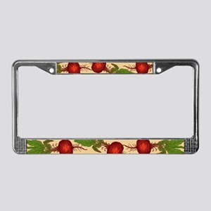 Beets License Plate Frame