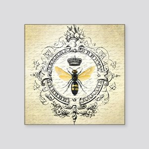 Vintage French Queen Bee Sticker