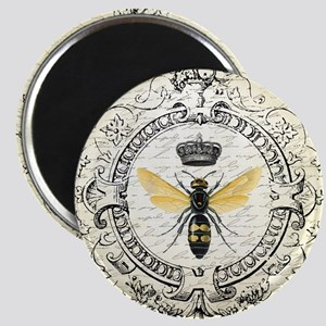 Vintage French Queen Bee Magnet