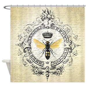 Bee Shower Curtains