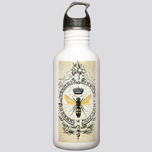 Vintage French Queen Bee Water Bottle