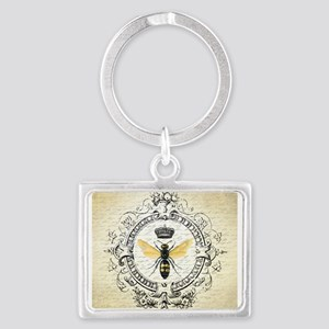 Vintage French Queen Bee Keychains