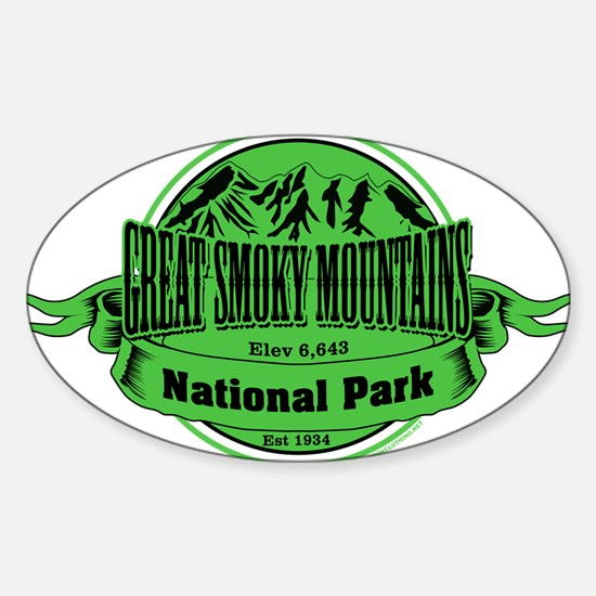 great smokey mountains 1 Decal
