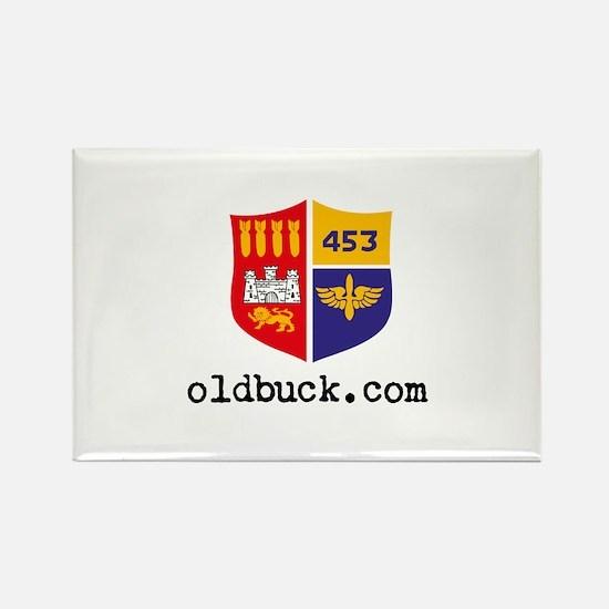 Old Buck . com Cap Rectangle Magnet